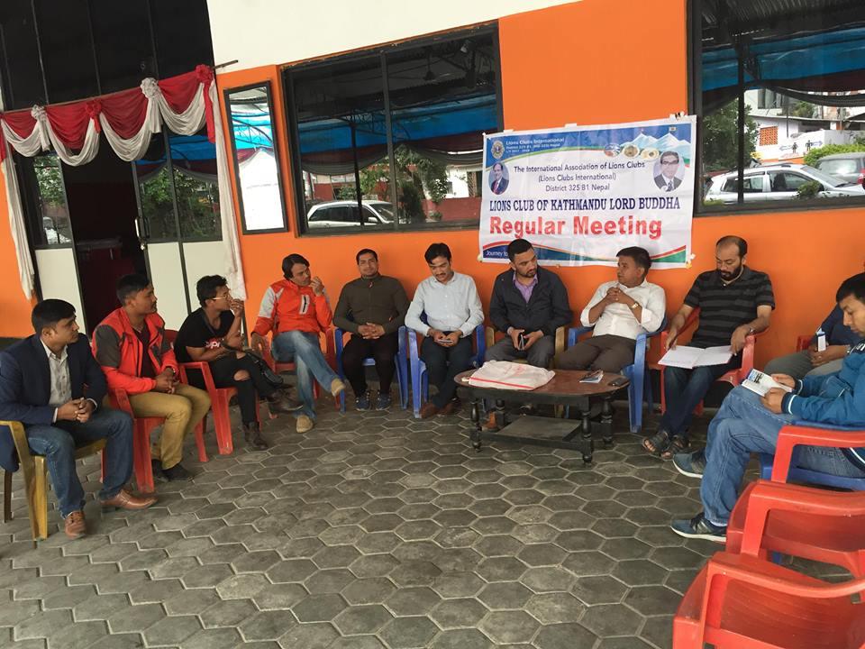 लायन्स क्लब अफ काठमाडौं लर्ड बुद्ध द्वारा स्वास्थ्य शिबिर सन्चालन हुने