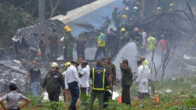 क्युबाः विमान दुर्घटनामा सयभन्दा बढीको मृत्यु