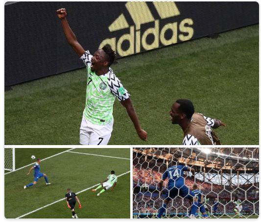 नाइजेरियाले आइसल्याण्डलाई हरायो, नाइजेरिया र अर्जेन्टिना बिचको बिजेता अर्को चरण जान