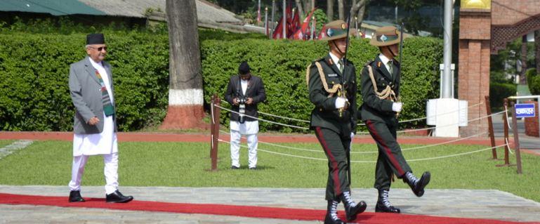 प्रधानमन्त्री ओलीको चीन भ्रमणमा
