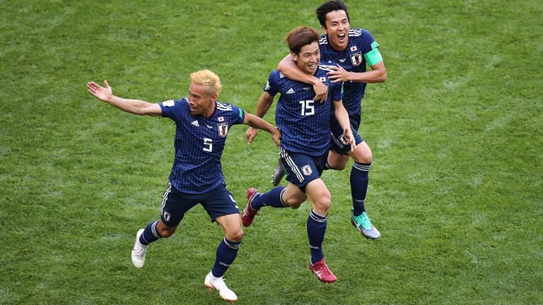 जापानले कोलम्बियालाई २-१ ले हरायो | विश्वकपको पहिलो रातोकार्ड संचेज़ लाई