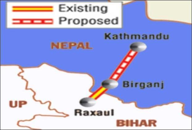 रक्सौल-काठमाडौं रेलमार्गको प्रारम्भिक सम्भाब्यता अध्ययन सुरु नेपाल आयो भारतीय टोली