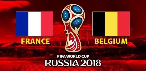 विस्वकप : फ्रान्स बिरुद्ध बेल्जियम पहिलो सेमिफाइनल कस्ले मार्ला बाजी