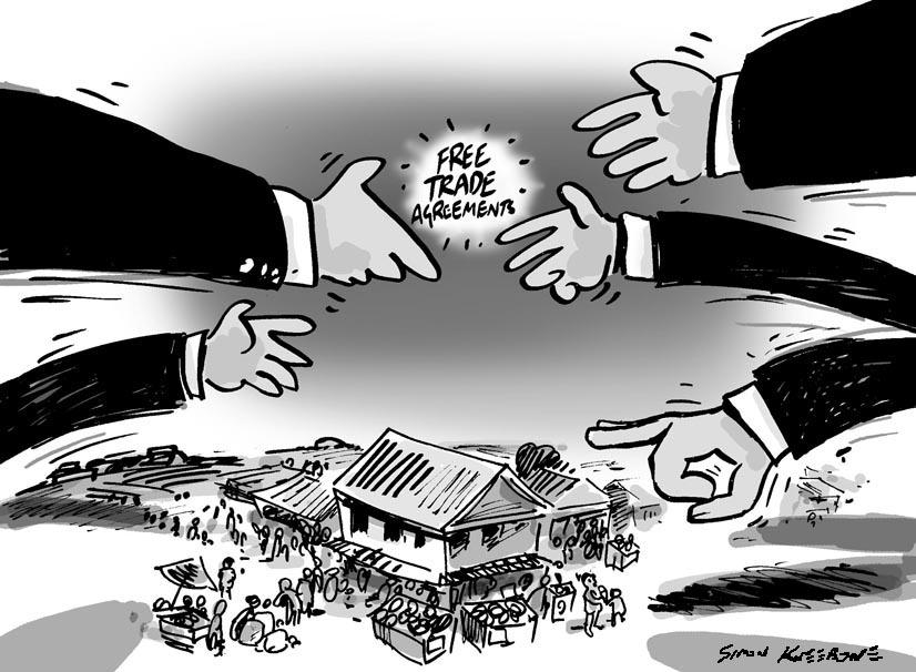 पहिलो पटक व्यापार सम्झौता