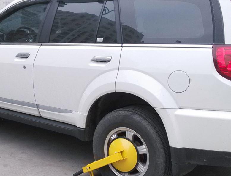 जथाभावी पार्किङ गर्ने सवारी साधनमा 'ह्वील लक'