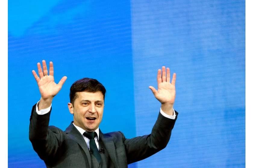 युक्रेनका हाँस्यकलाकार जेलेन्सकी बने राष्ट्रपति