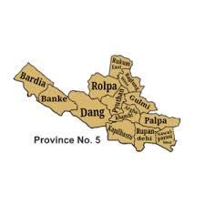 प्रदेश ५ को नाम 'लुम्बिनी' राख्न प्रस्ताव स्थायी राजधानीका लागि रुपन्देही, कपिलवस्तु वा दाङ सिफारिस