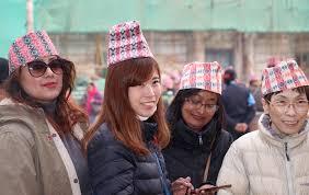 स्वदेशीसँगै विदेशीले पनि मनाए 'ढाकाटोपी दिवस'