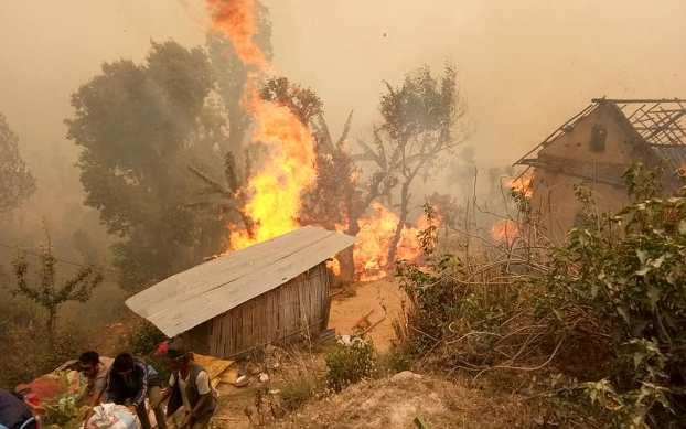पाण्डुसैनमा आगलागीबाट ४ बर्षिया बालिकाको मृत्यू