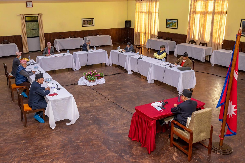 नेकपाको सचिवालय बैठक बालुवाटारमा सुरु