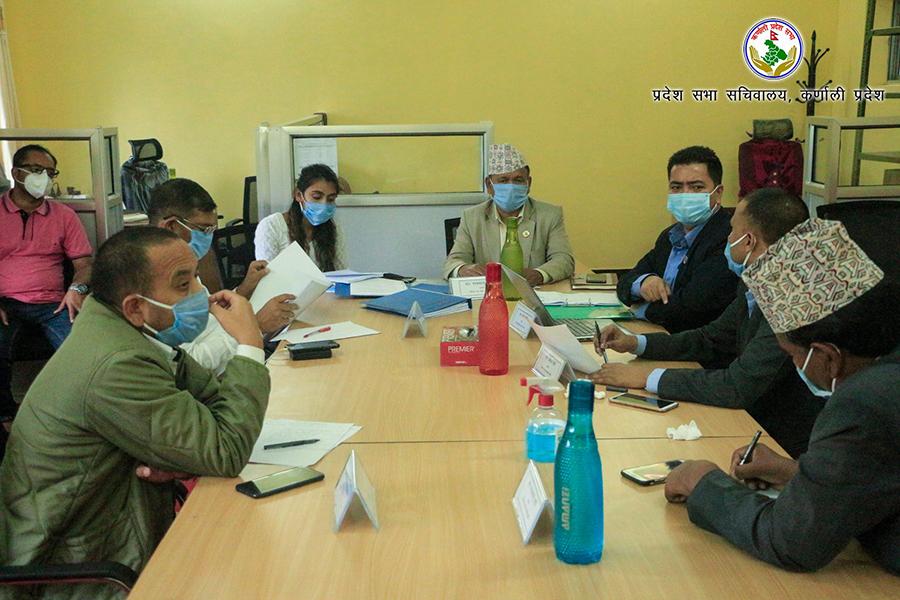 कर्णालीमा कम्तिमा १० एम्बुलेन्स खरिद गर्न संसदीय समितिको निर्देशन