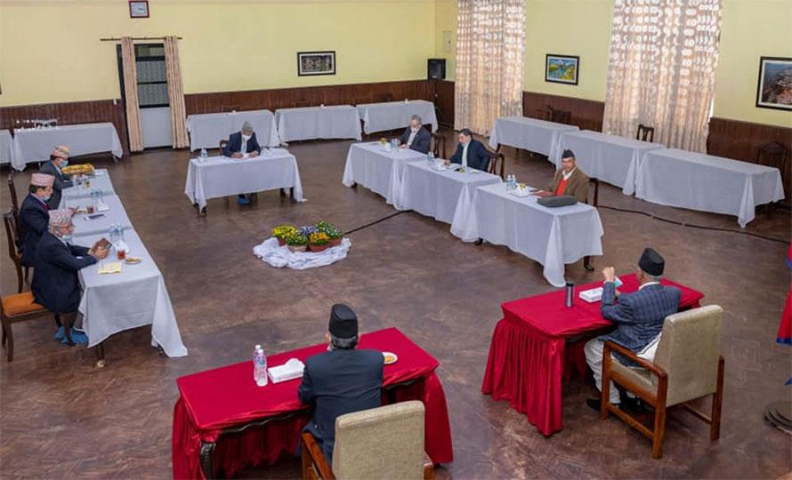 नेकपा सचिवालय बैठक आज बस्दै, एमसीसीबारे छलफल हुने