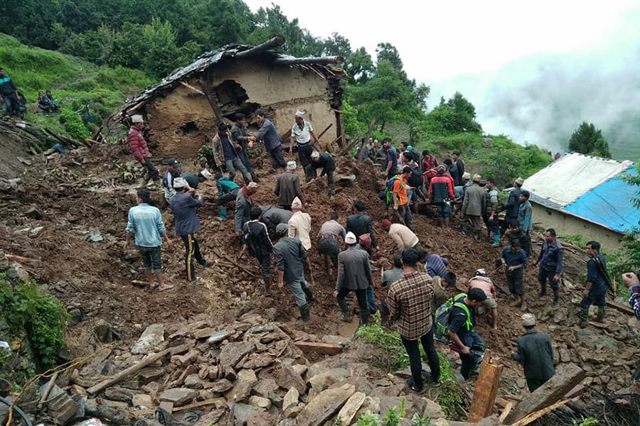 आठ जिल्लामा बाढी पहिरो, २३ को मृत्यु, ३६ बेपत्ता