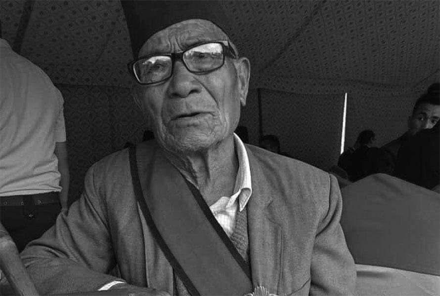 कम्युनिष्ट नेता बरमन बुढाको निधन