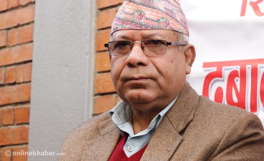 कोही चोइटिएर जालान् तर कम्युनिस्ट पार्टी फुट्दैन : माधव नेपाल