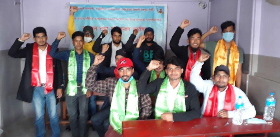 जेल–हिरासतबाट रिहा भएका बिधार्थिलाइ अखिल क्रान्तिकारीले गर्याे काठमाडाैमा सम्मान