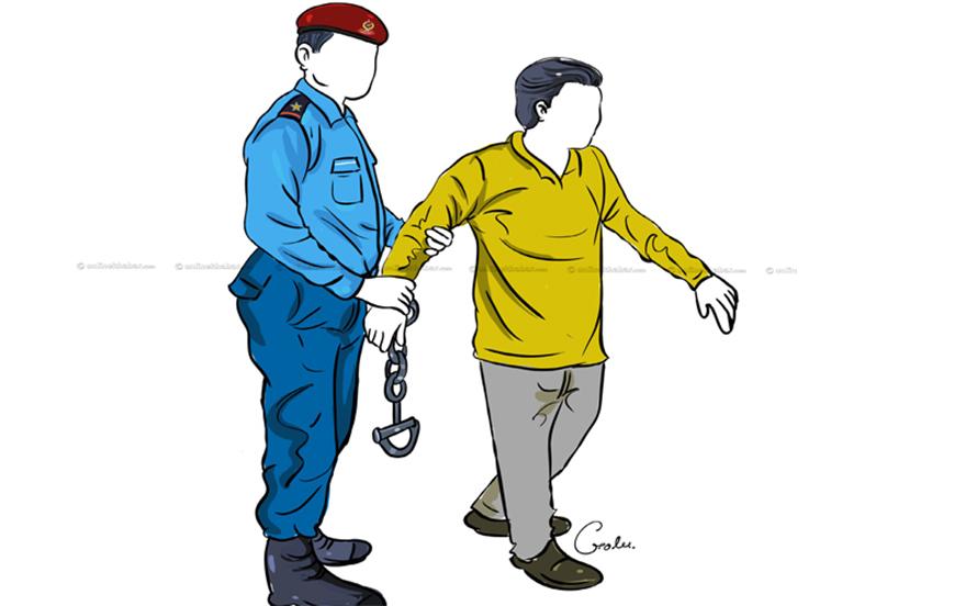 बलात्कार आरोपमा सशस्त्र प्रहरीका एसएसपी नियन्त्रणमा