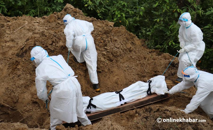 कोरोना संक्रमणबाट नेपालमा एकैदिन ६ जनाको मृत्यु