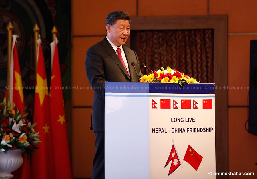 चिनियाँ राष्ट्रपतिले भने– नेपालसँगको सम्बन्धलाई चीनले अत्यधिक महत्व दिएको छ