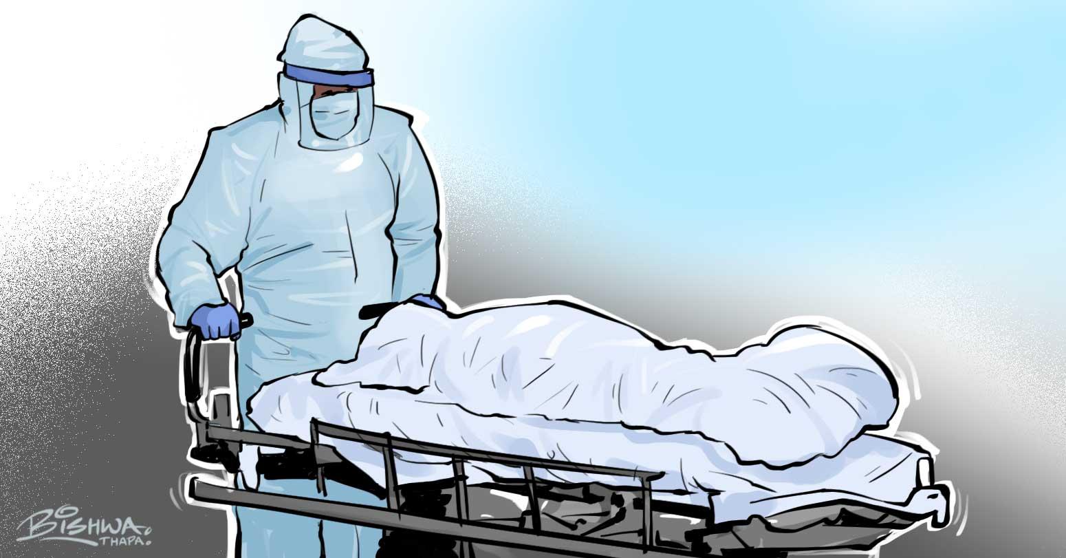 कोरोना संक्रमित थप १२ जनाको मृत्यु, अहिलेसम्म एक सय ९५ जनाको निधन