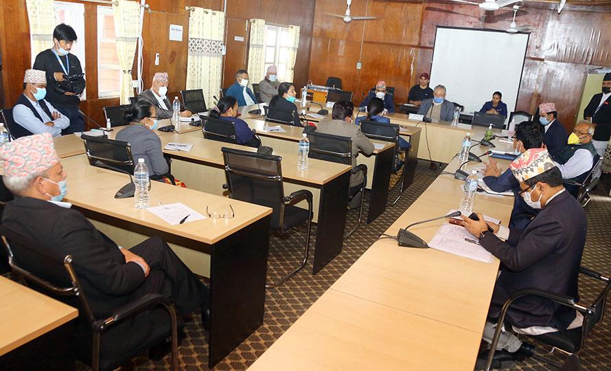 एसिडसम्बन्धी छुट्टै कानुन ल्याउन संसदीय समितिको निर्देशन