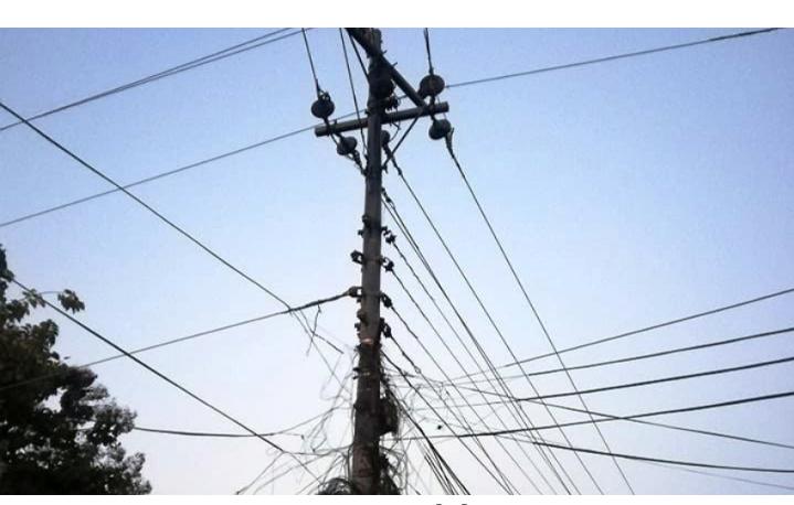विद्युतको पोलबाट खसेर इलेक्ट्रिसियनको मृत्य