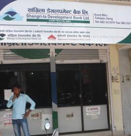 बिना धितो १५ लाख ऋण दिने सांग्रिला डेभलपमेन्ट बैंककाे निर्णय !