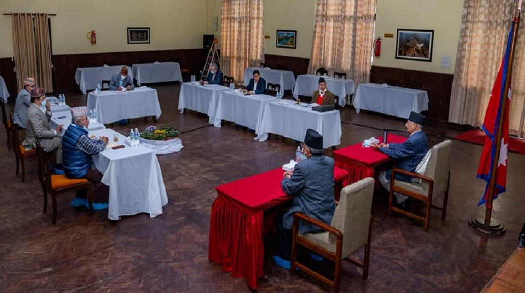 सकियो नेकपा स्थायी कमिटी बैठक चैत्र २५ देखि ३० सम्म महाधिवेशन गर्ने निर्णय