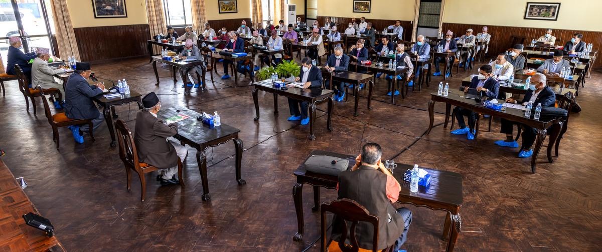 नेकपाको आन्तरिक विवाद स्थायी कमिटी बैठकसँगै समाप्त