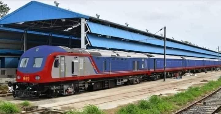 नेपालमा आइपुग्यो रेल