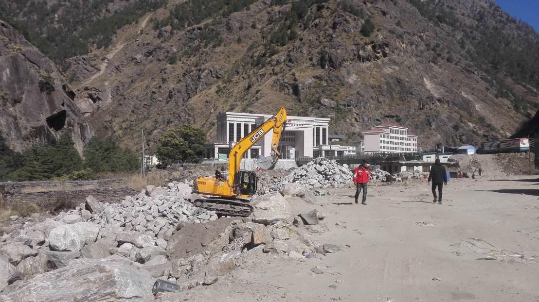 नेपाली भूभागमा चीनका भवन