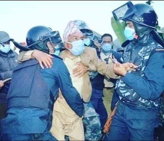 पुलिसको डण्डाबाट पेलिएका करङ दुखिरहेका छन् : पौडेल