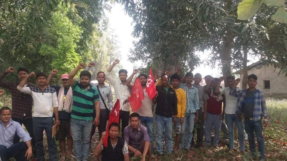 कैलालीमा युवा संगठन नेपाल संगठन विस्तारमा तिव्रता दिदै