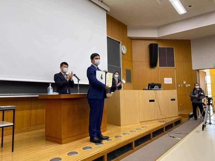 जापानकाे विश्व विद्यालयमा नेपाली कर्णाली विद्यार्थी उत्कृष्ट