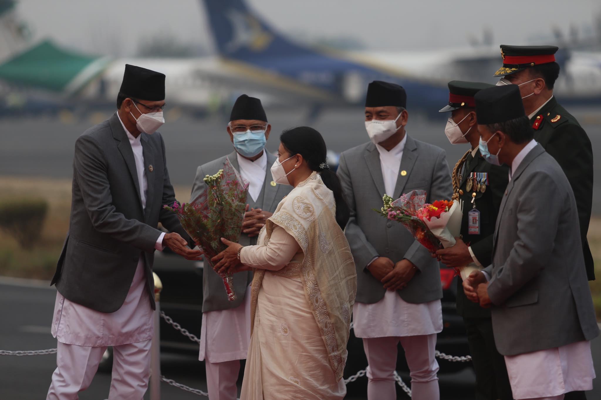 राष्ट्रपति नेपाल फिर्ता