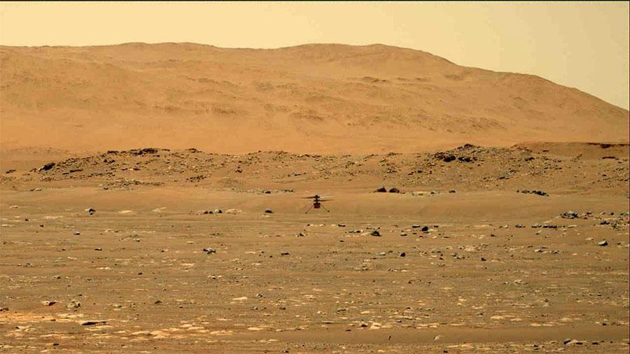 पहिलो पटक मंगल ग्रहमा उड्यो नासाको हेलिकप्टर