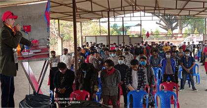 युवा संगठन नेपाल तनहुँकाे प्रथम जिल्ला सम्मेलन सम्पन्न
