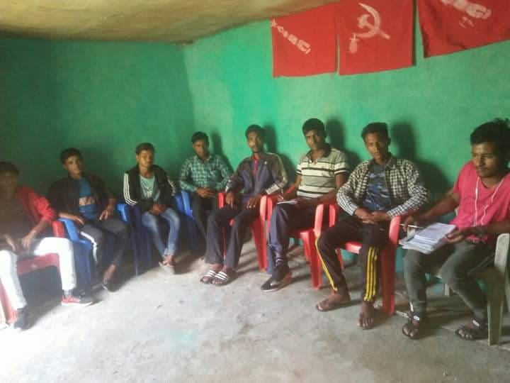 अखिल क्रान्तिकारी कालिकाेटद्दारा नरहरिनाथ गाउँ सम्मेलन तयारी समिति गठन