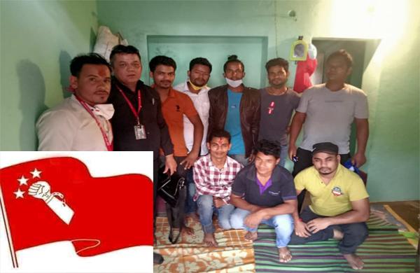 नेकपा प्रवासी माेर्चा भारतमा काेकाेनट गार्डेन एरिया समिति गठन