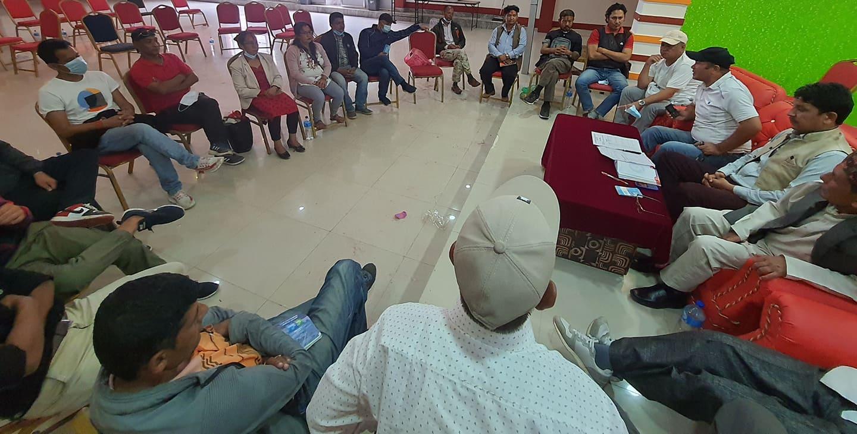 नेकपा काठमाण्डौ महानगर समितिको पुर्ण बैठक सम्पन्न, एमसीसीको विरोधमा ५ बर्ष पछि विप्लवले सम्वोधन गर्ने कार्यक्रमको तयारी तिव्र पार्ने